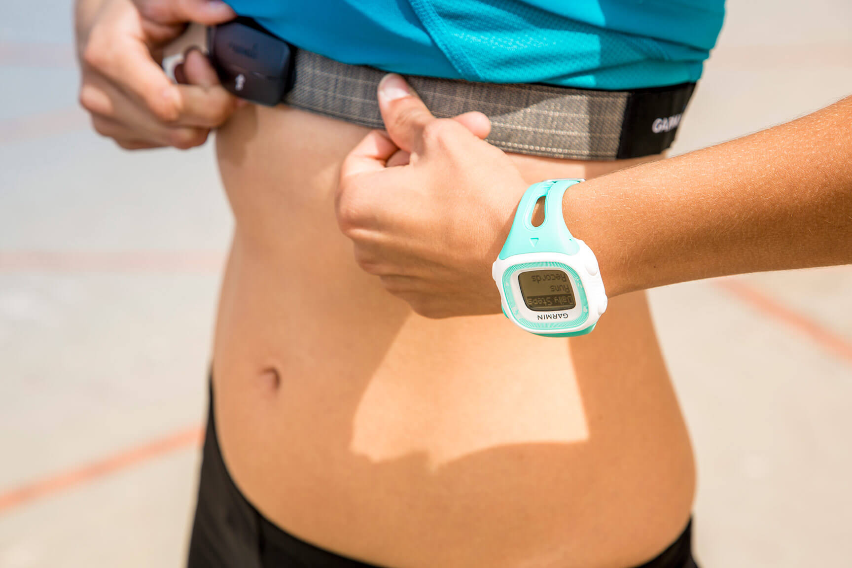 How to use Garmin heart rate monitor