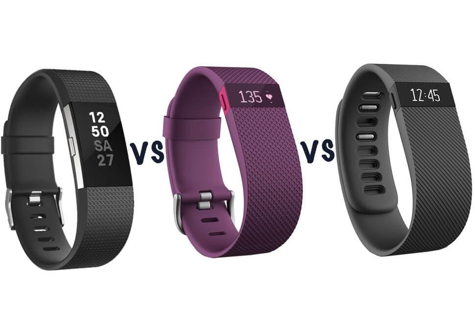 Fitbit Charge 2 vs Fitbit Charge vs Fitbit Charge HR
