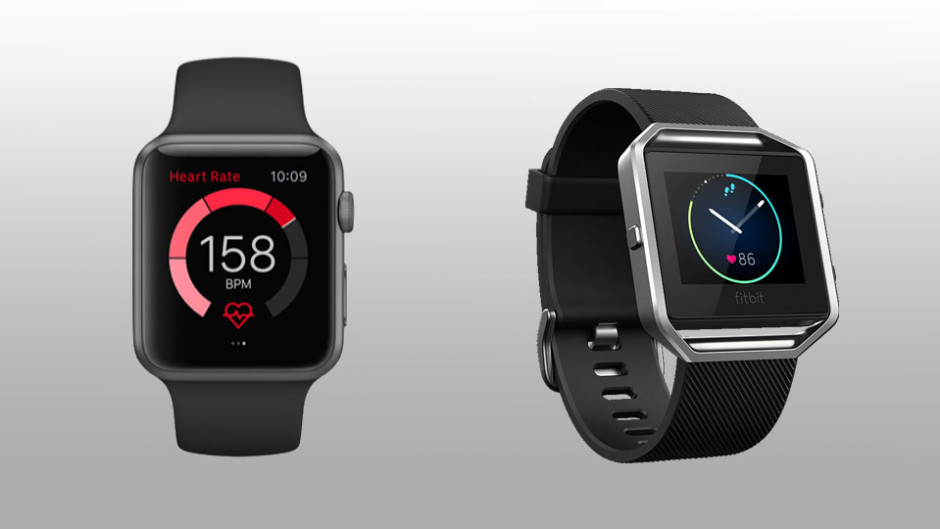 Fitbit Blaze vs Apple watch