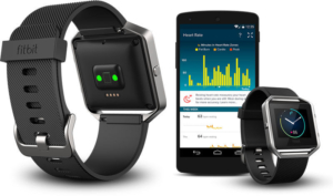 fitbit blaze pros heart rate