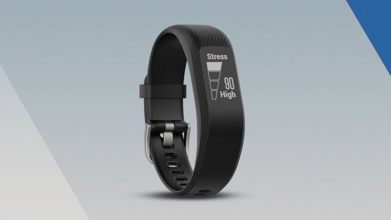 garmin vivosmart 3 stress monitoring review