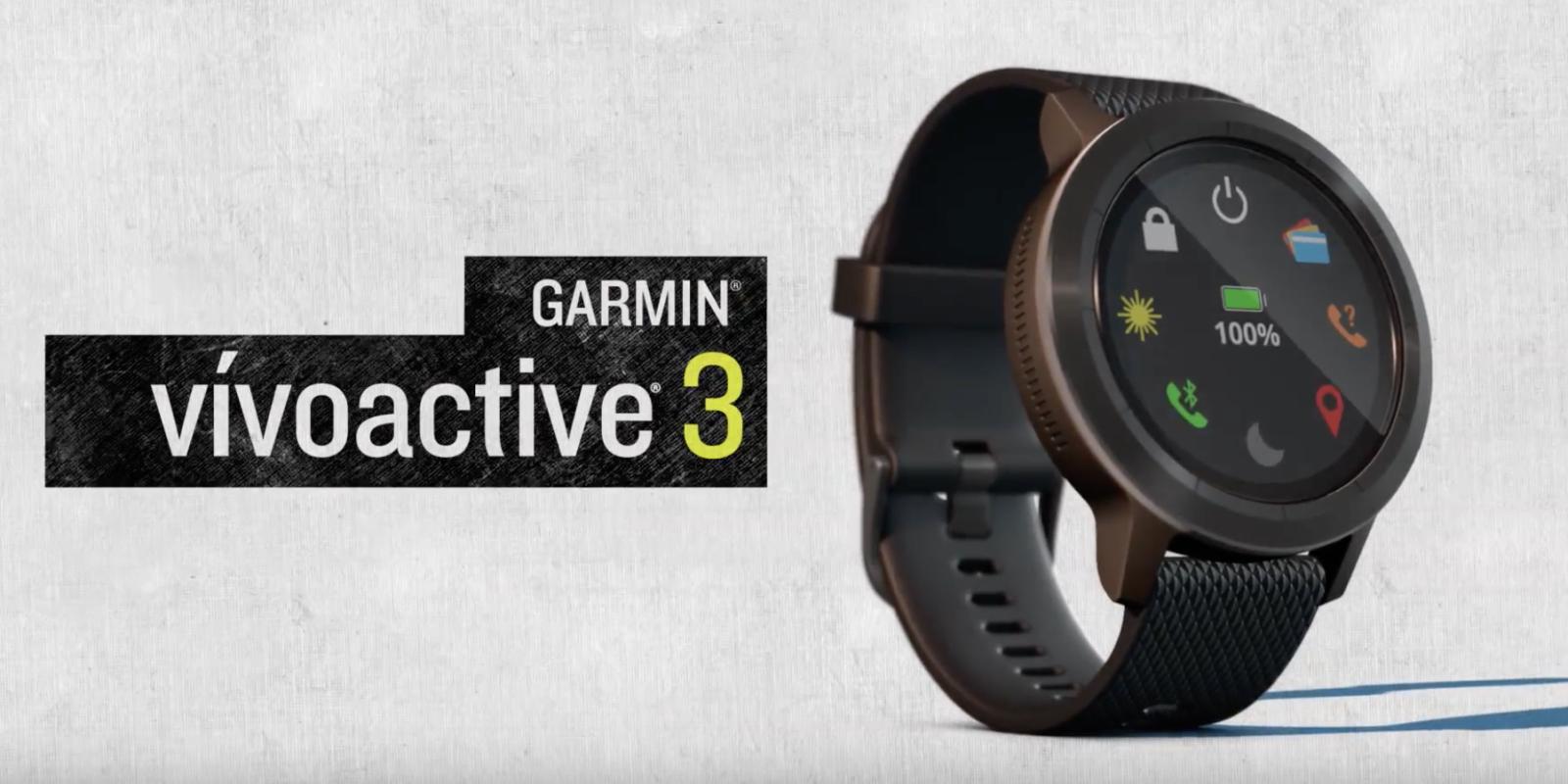 garmin vivoactive 3 pros and cons